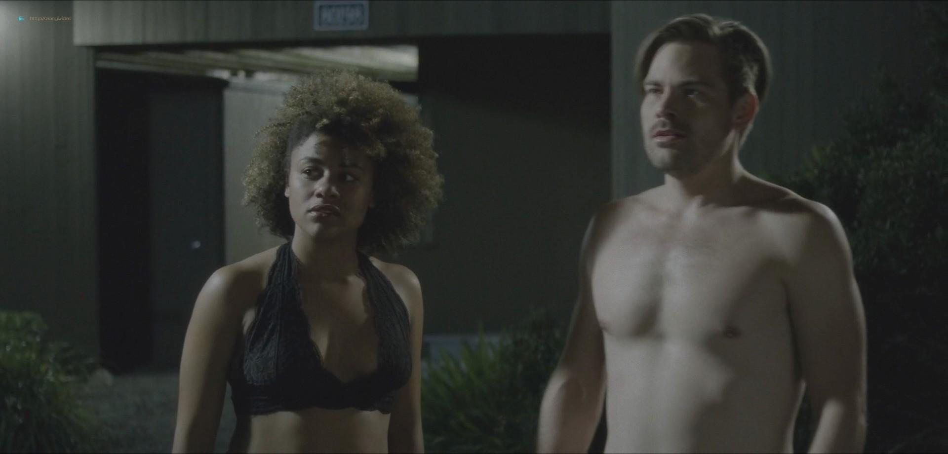 Ariana DeBose sexy lesbian sex with Steffanie Leigh - Seaside (2018) HD 1080 Web (8)