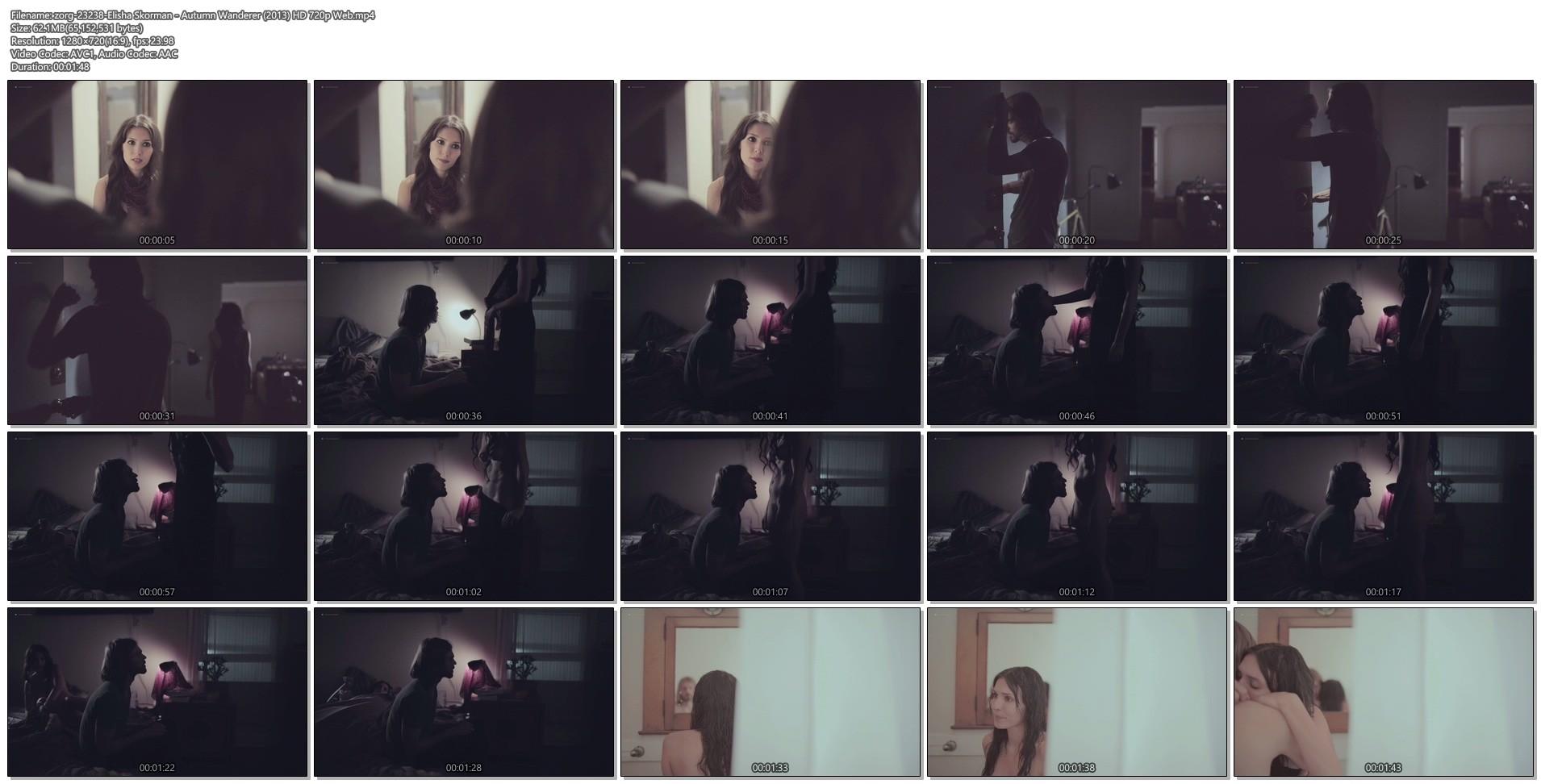 Elisha Skorman nude bush and boobs - Autumn Wanderer (2013) HD 720p Web (1)