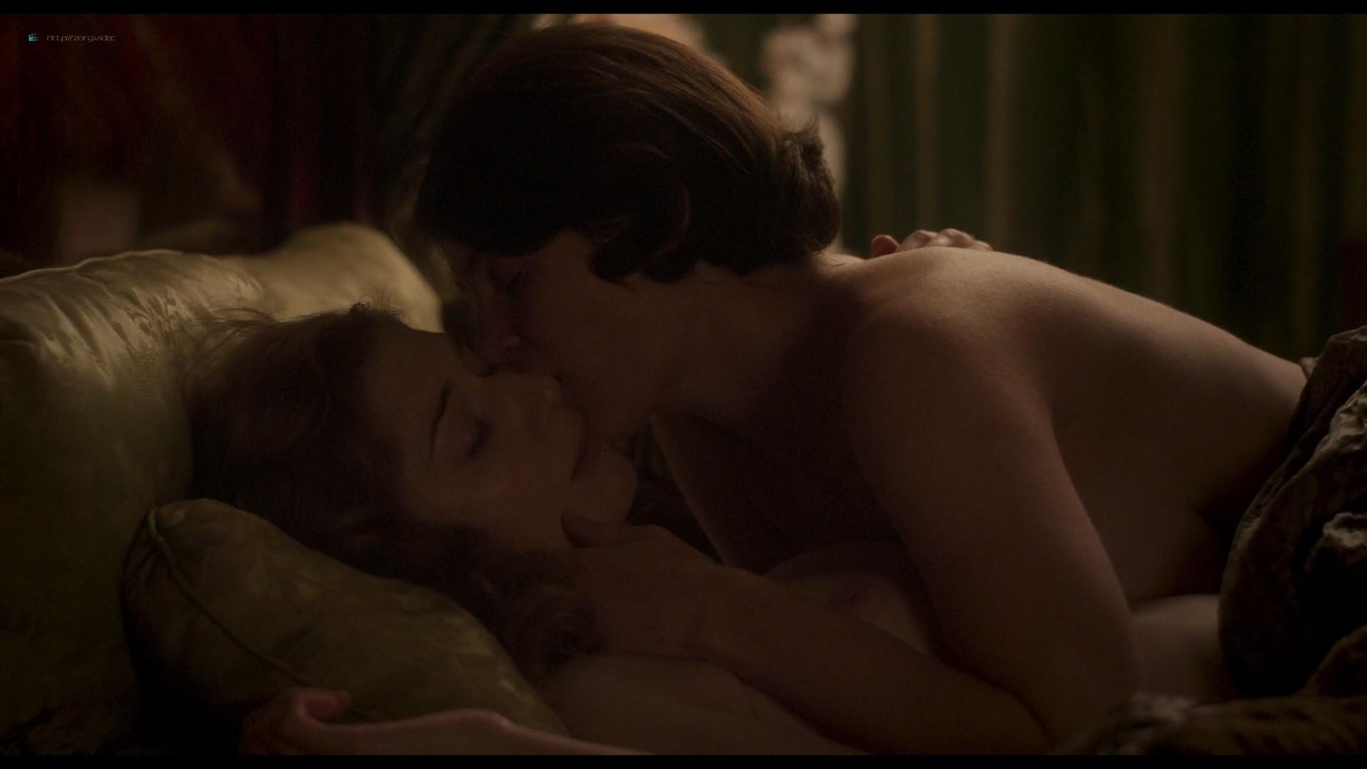 Elizabeth Debicki nude and Gemma Arterton lesbian sex - Vita & Virginia (2018) HD 1080p Web (8)