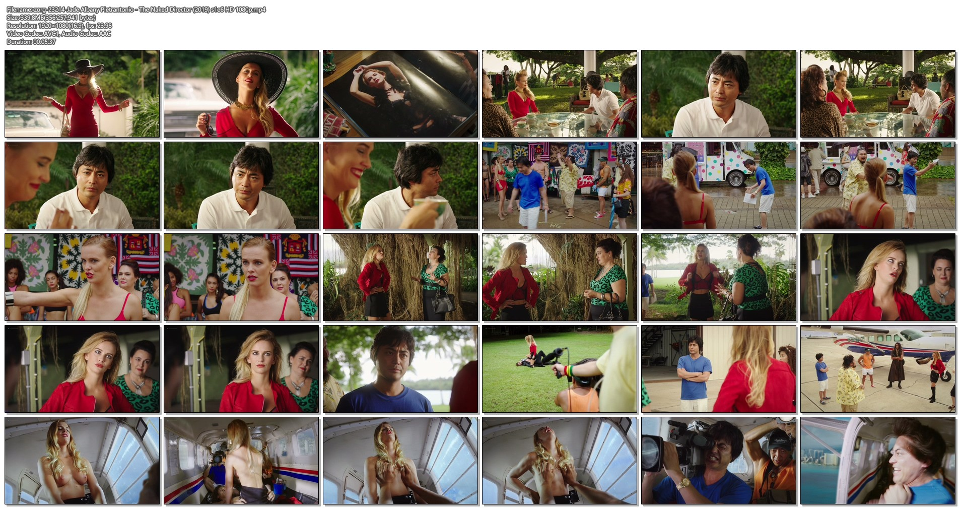 Jade Albany Pietrantonio nude topless and sex - The Naked Director (2019) s1e6 HD 1080p (1)