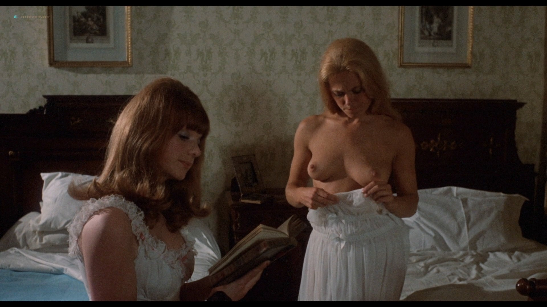 Suzanna Leigh nude Sue Longhurst and others nude topless - Lust for a Vampire (1971) HD 1080p BluRay (11)