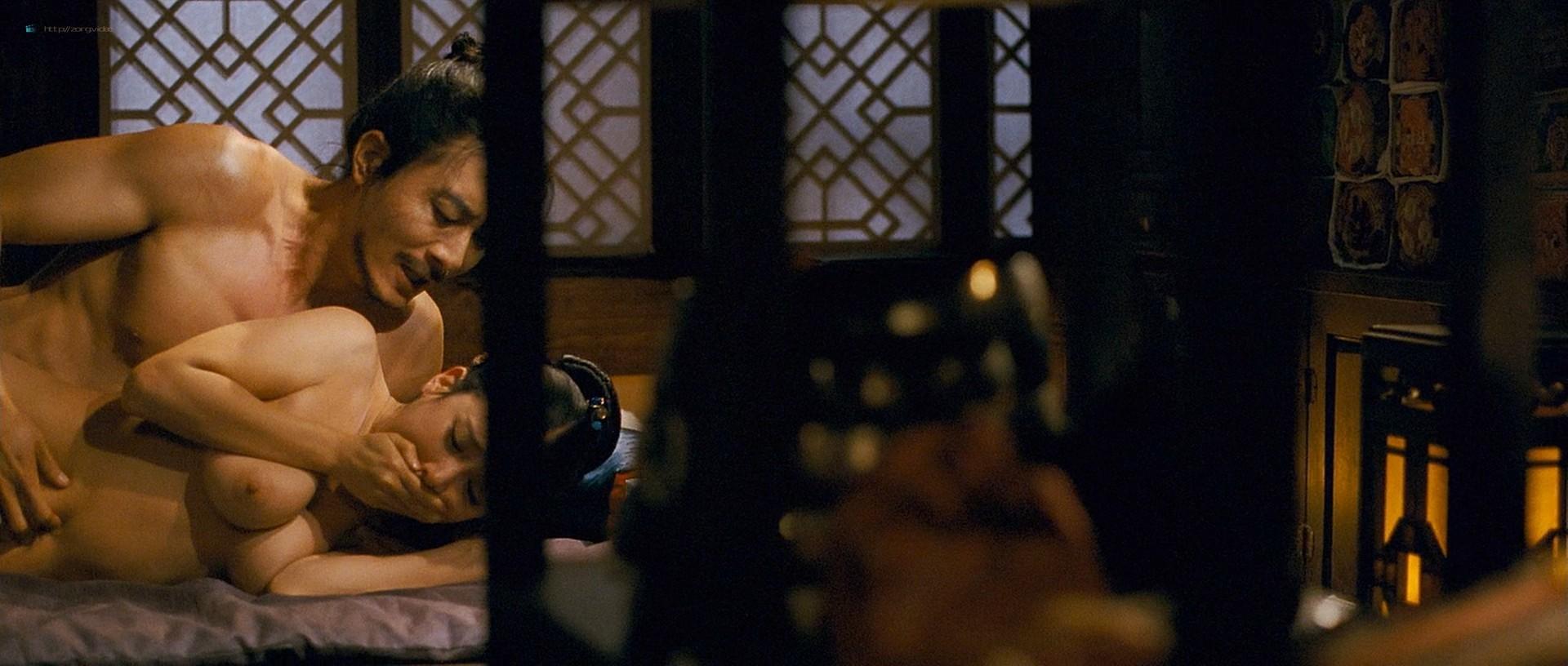 Cho Yeo-jeong nude sex Ryu Hyun-kyung nude too- The Servant (KR-2010) HD 1080p BluRay (8)