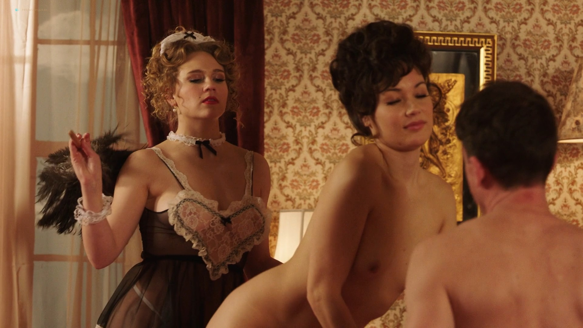 Emily Meade nude sex Krissy Lynn and others nude sex too - The Deuce (2019) s3e2 1080p Web (6)