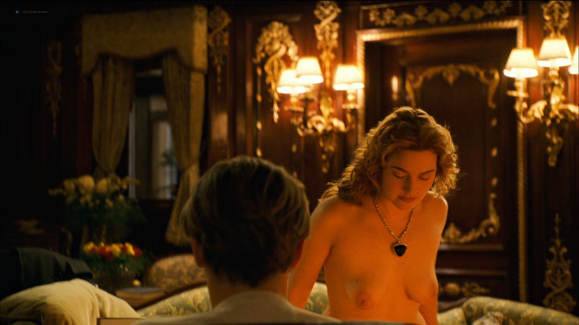 Kate Winslet nude topless - Titanic (1997) HD 1080p BluRay (9)
