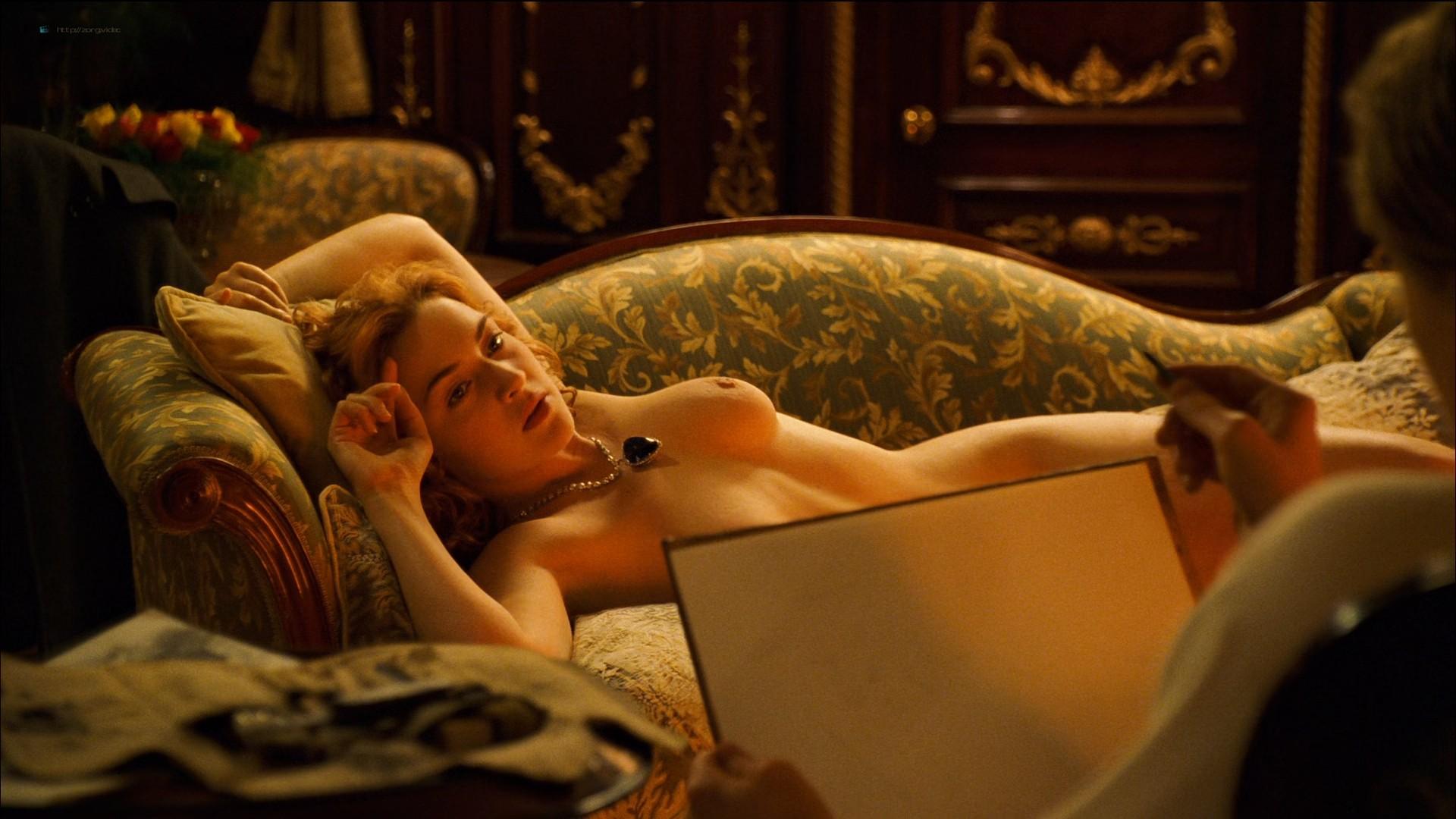 Kate Winslet nude topless - Titanic (1997) HD 1080p BluRay (6)