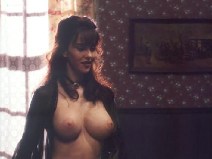 Kelly LeBrock hot Kimberly Kelley and Rochelle Swanson nude - Hard Bounty (1995) (16)
