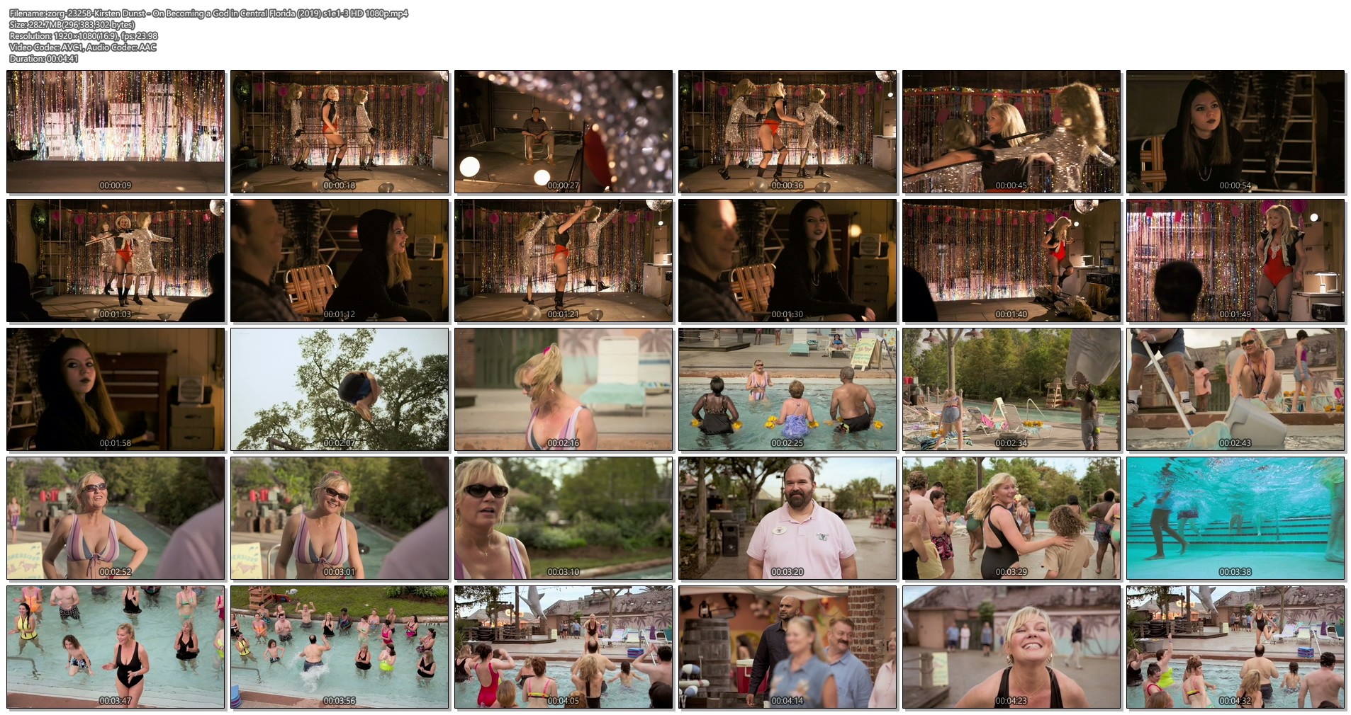 Kirsten Dunst hot sexy and busty - On Becoming a God in Central Florida (2019) s1e1-3 HD 1080p (1)