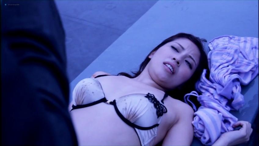 Miyuki Yokoyama nude topless and sex - Lipstick (JP-2013) (3)