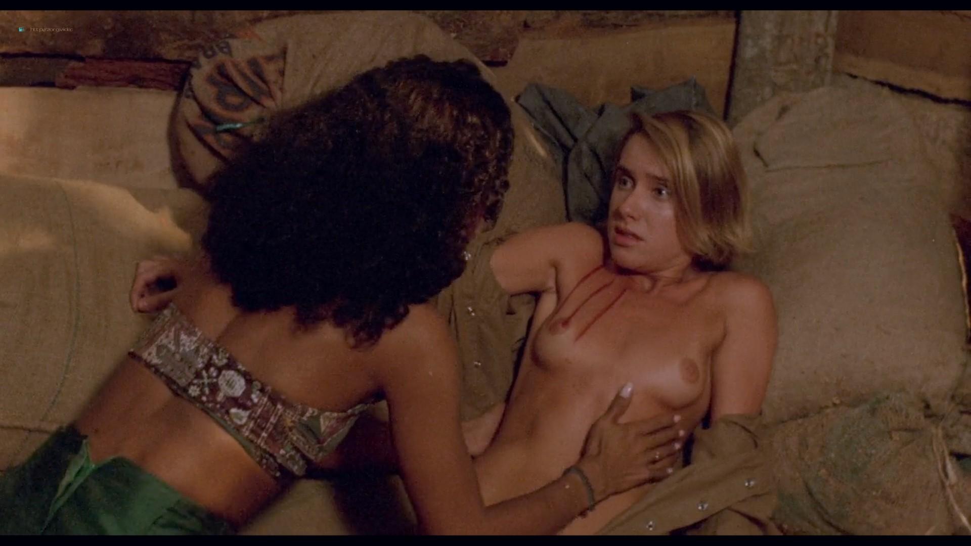 Suzane Carvalho nude bush Susan Hahn nude too - Massacre in Dinosaur Valley (BR-1985) HD 720p (4)