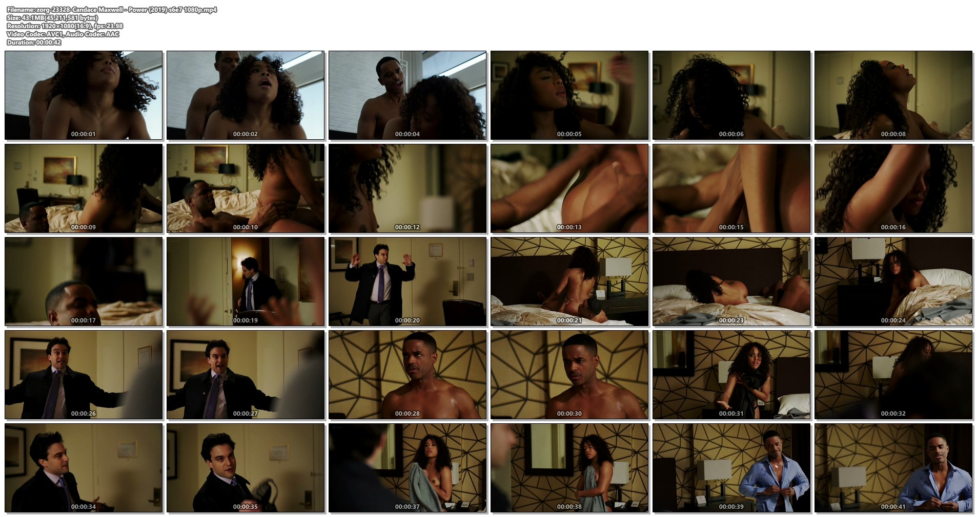 Candace Maxwell nude hot sex - Power (2019) s6e7 1080p (1)