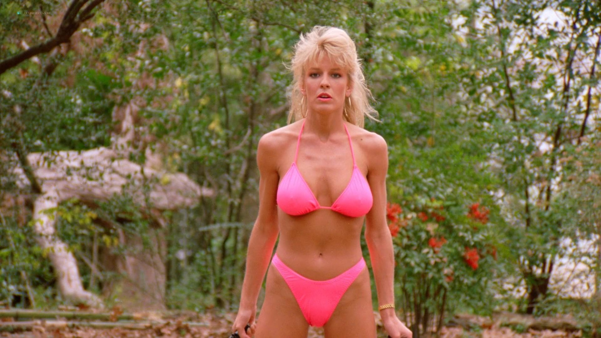 Dona Speir nude Pandora Peaks, Carolyn Liu and others nude too - Do or Die (1991) 1080p BluRay (10)
