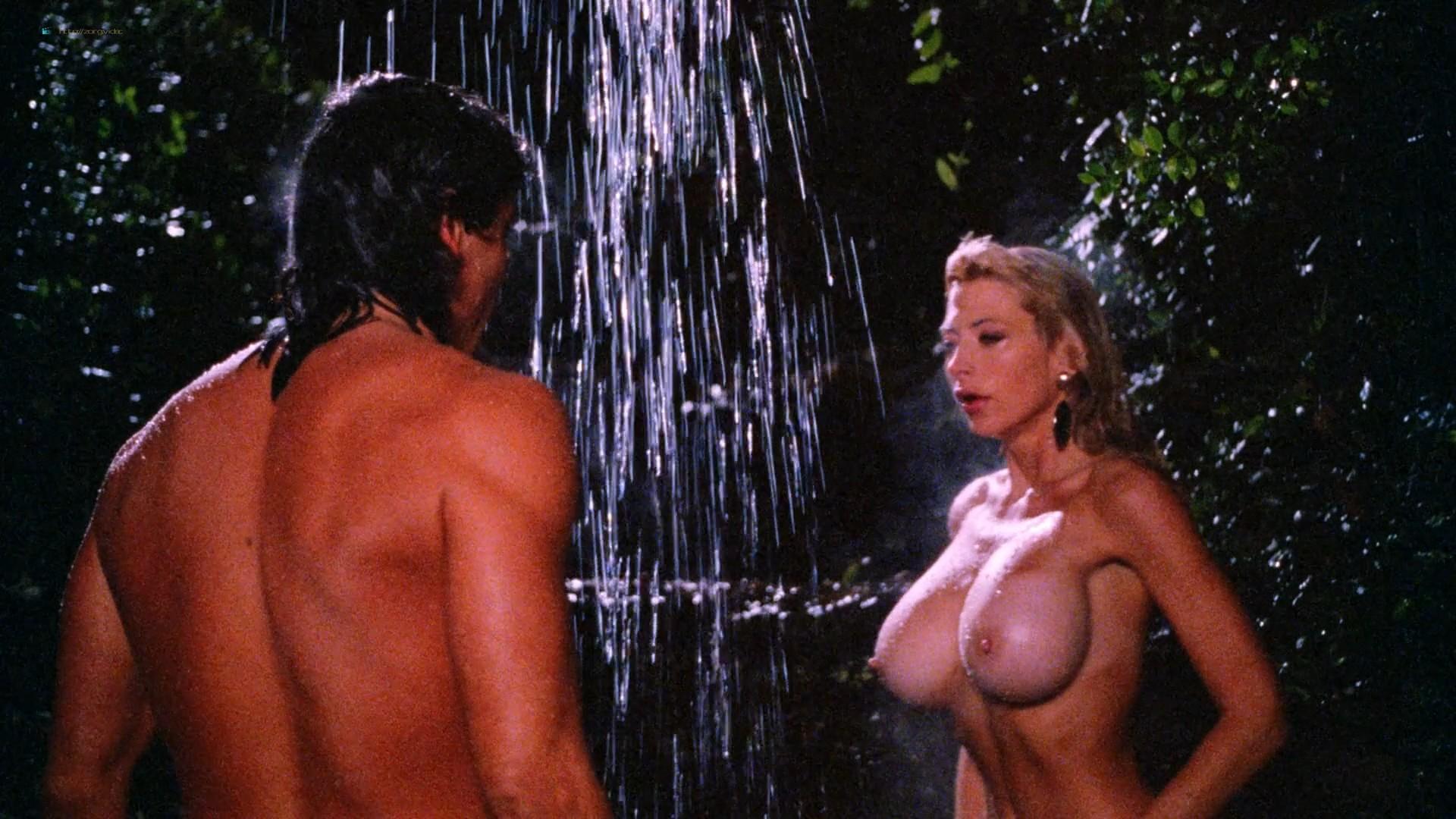 Dona Speir nude Pandora Peaks, Carolyn Liu and others nude too - Do or Die (1991) 1080p BluRay (7)