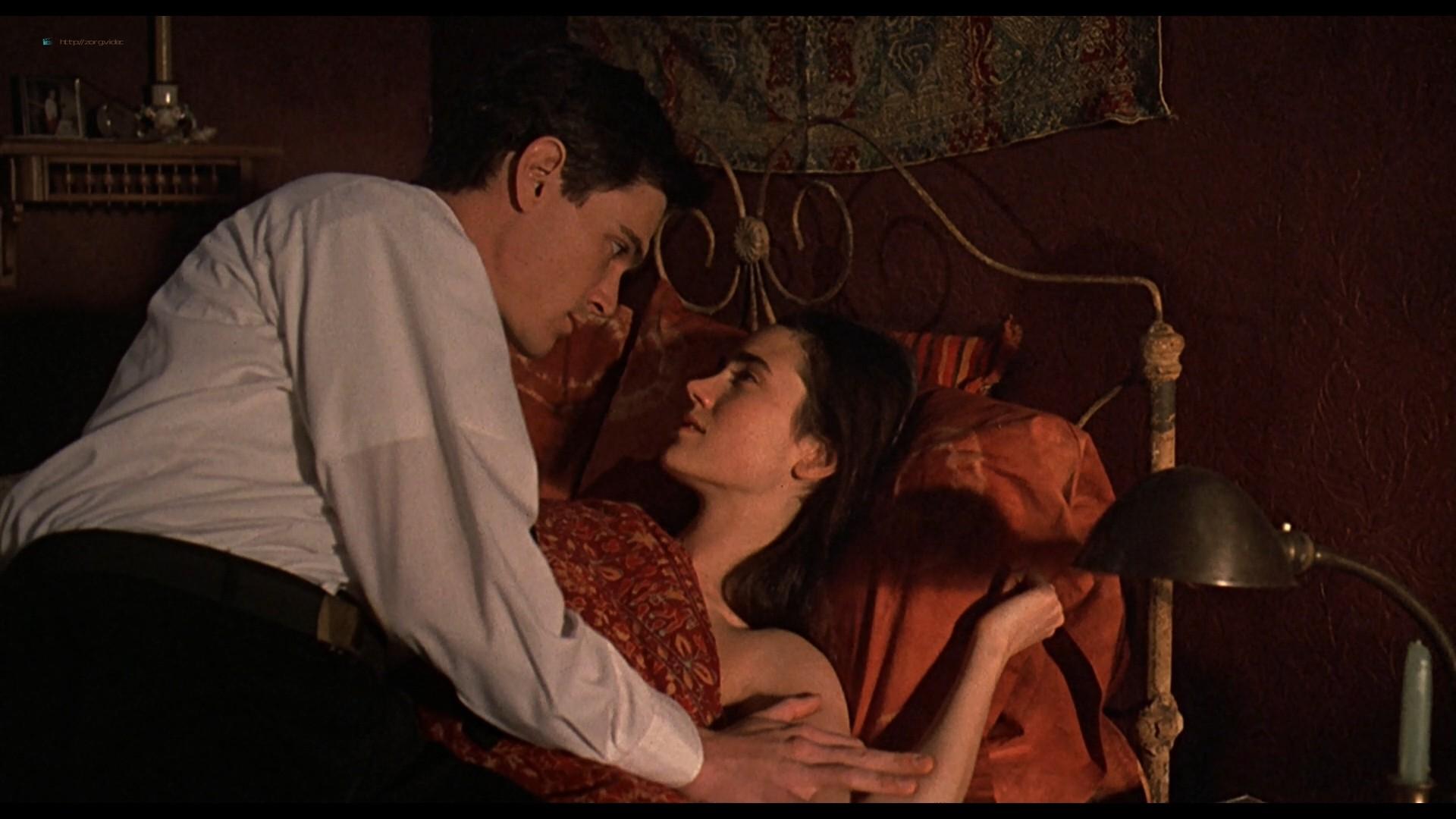 Jennifer Connelly nude side boob sex in – Waking the Dead (2000) HD 1080p BluRay (14)