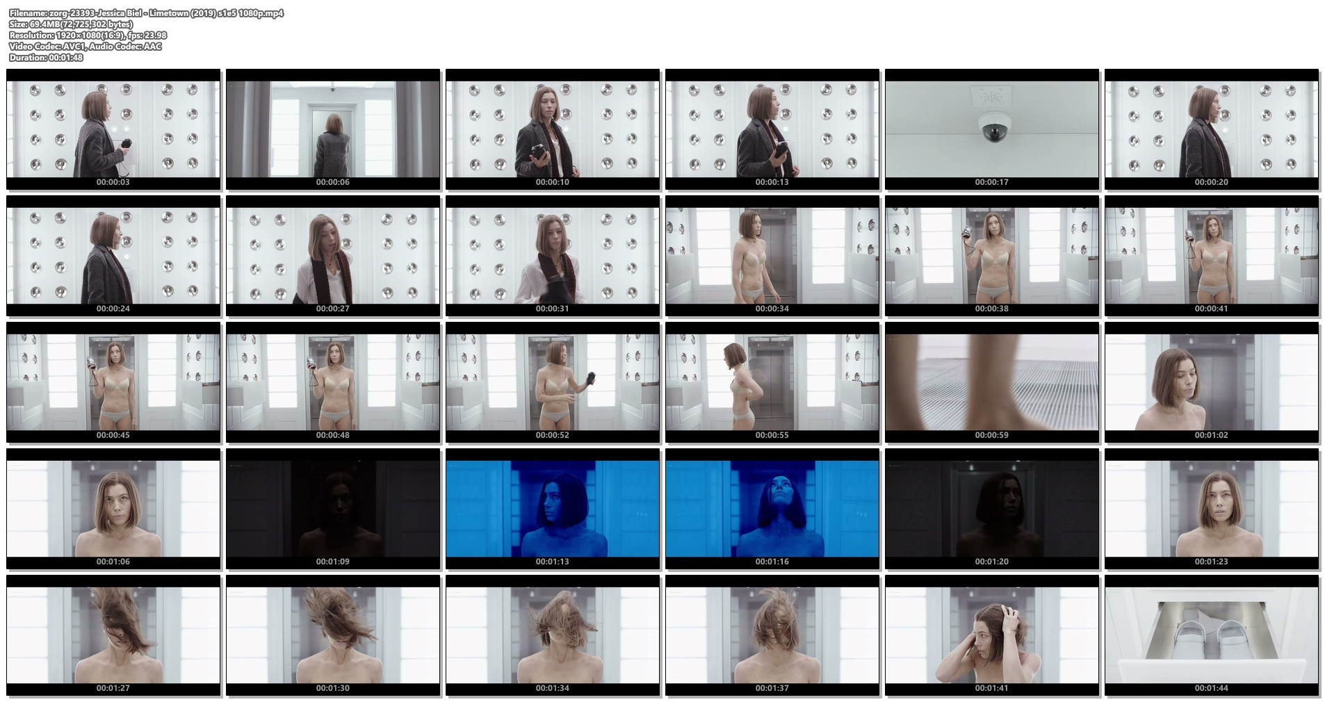 Jessica Biel hot and sexy in bra and panties- Limetown (2019) s1e5 1080p (1)