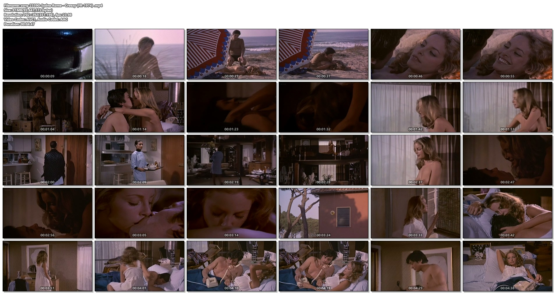 Sydne Rome nude topless and sex - Creezy (FR-1974) (1)