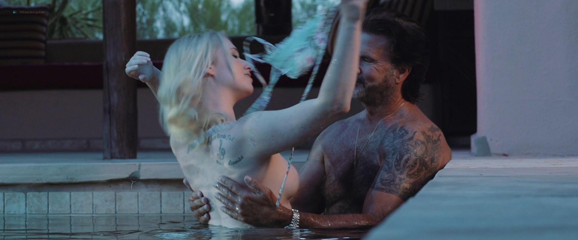 Audrey Beth nude topless Kier Simonetta, Michelle Miller nude too - Water (2019) 1080p (5)