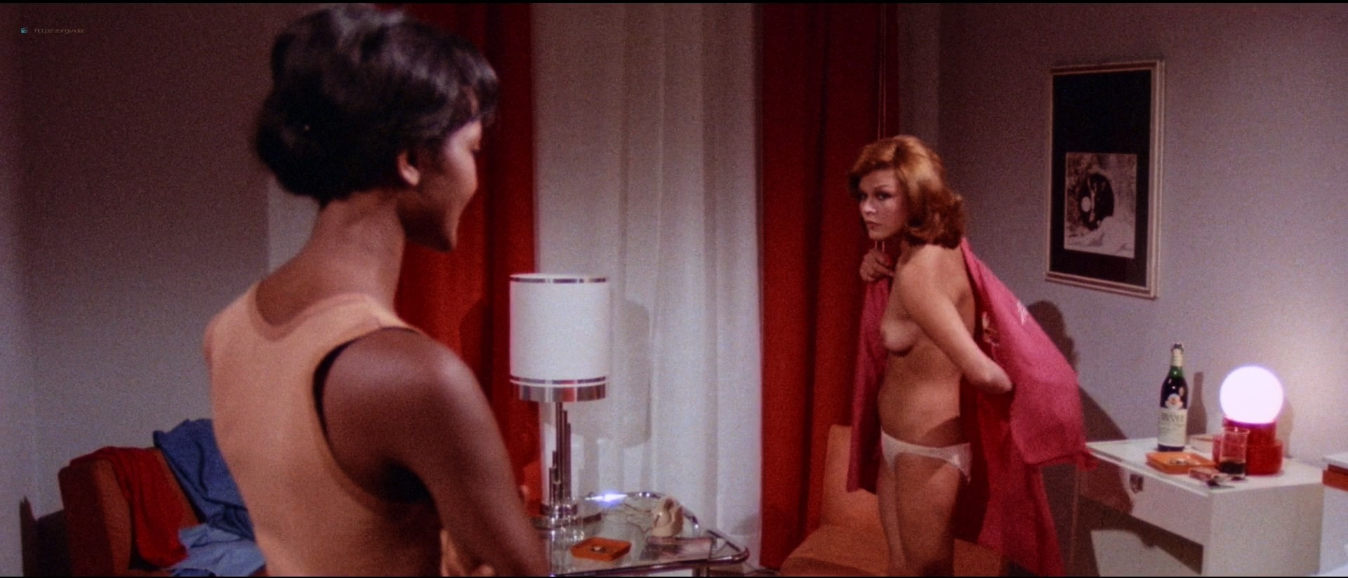 Martine Brochard nude Mirta Miller, Ines Pellegrini nude too - Eyeball (IT-1975) 1080p BluRay (14)
