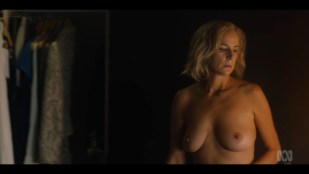 Rachel Griffiths nude bush and topless - Total Control (2019) s1e3 720p