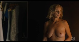 Rachel Griffiths nude bush and topless - Total Control (2019) s1e3 720p (4)
