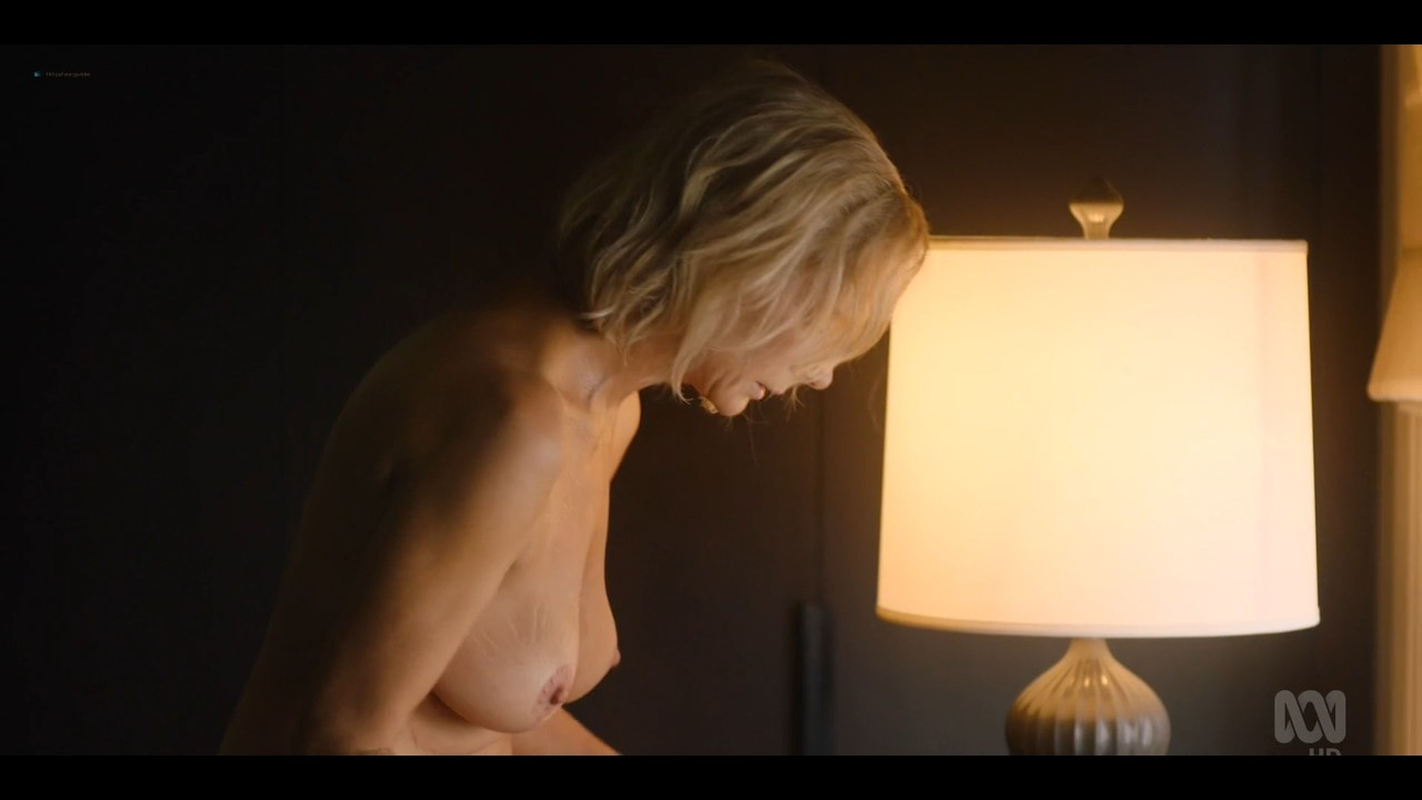Rachel Griffiths nude bush and topless - Total Control (2019) s1e3 720p (3)