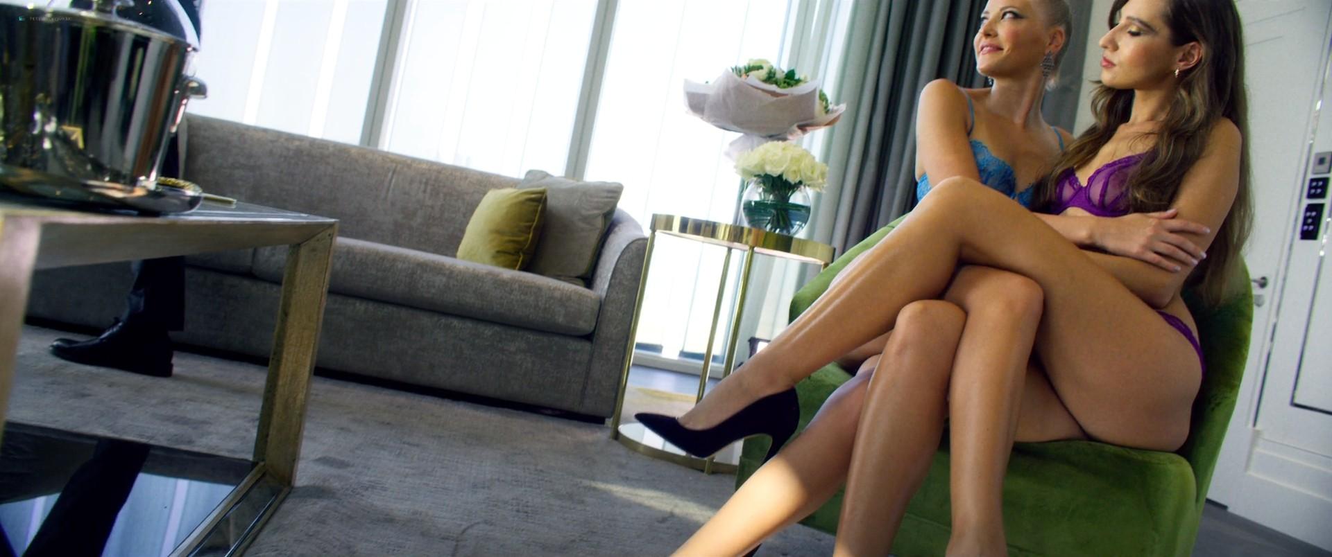 Adria Arjona hot and sex Melanie Laurent hot sex too - 6 Underground (2019) HD 1080p WEB (11)