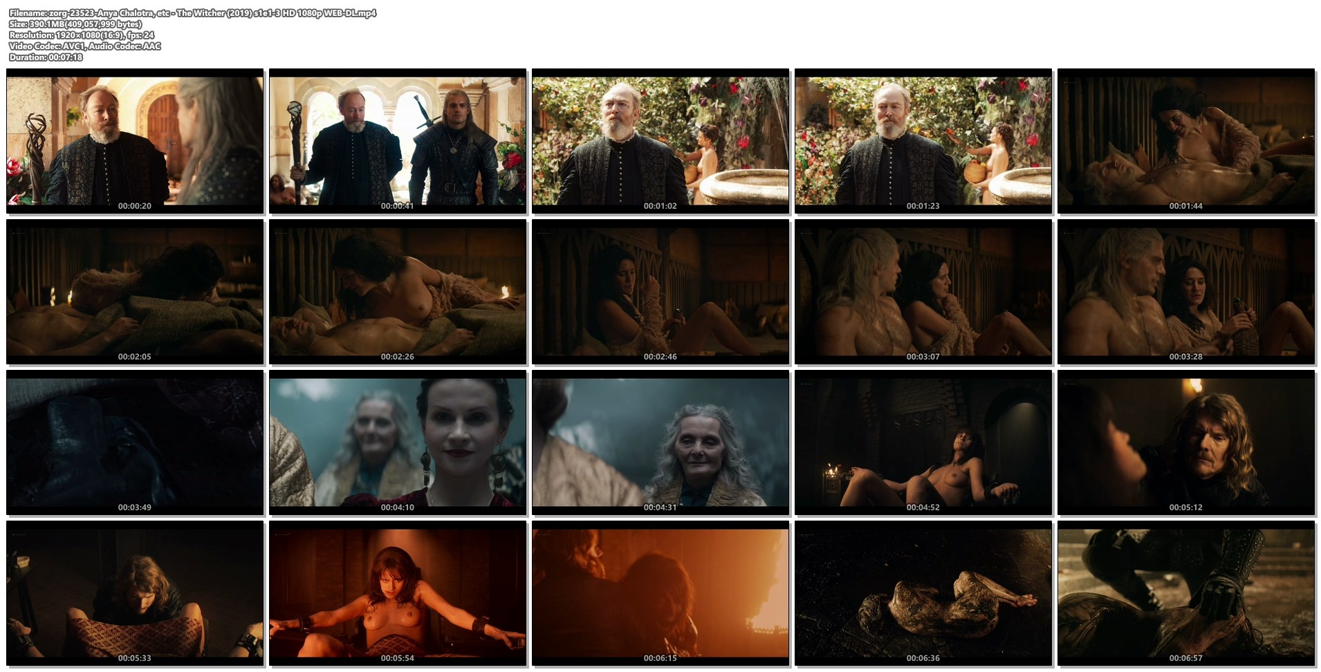 Anya Chalotra nude sex others nude too - The Witcher (2019) s1e1-3 HD 1080p WEB-DL (1)