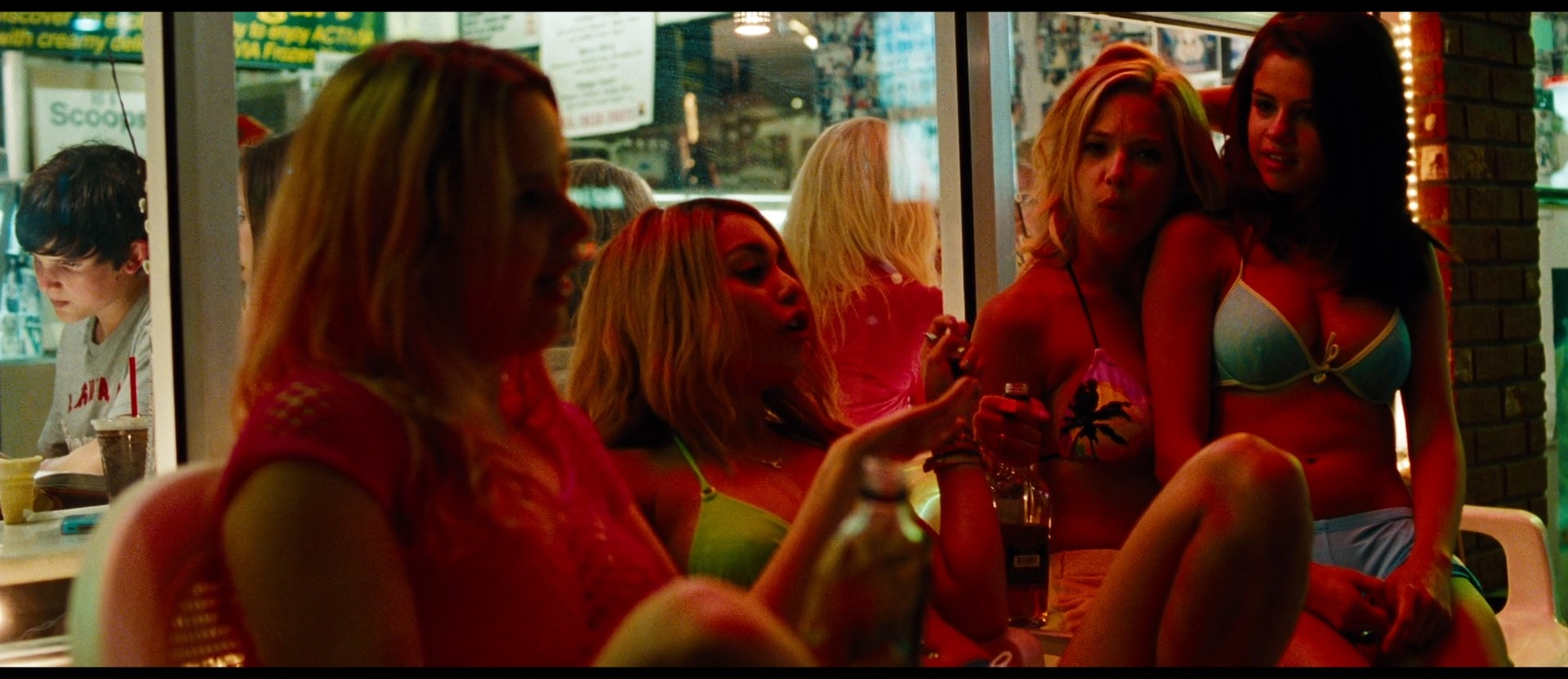 Ashley Benson nude skinny dipping others nude too - Spring Breakers (2012) HD 1080p BluRay (21)