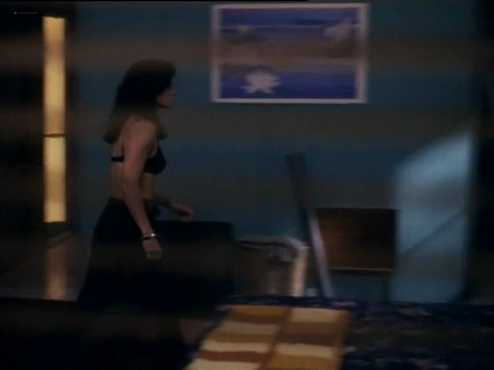 Courteney Cox nude nip slip and sex - Blue Desert (1991) (3)