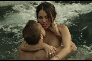 Angela Trimbur hot and Janel Parrish nude sex - Trespassers (2018) HD 1080p Web (2)
