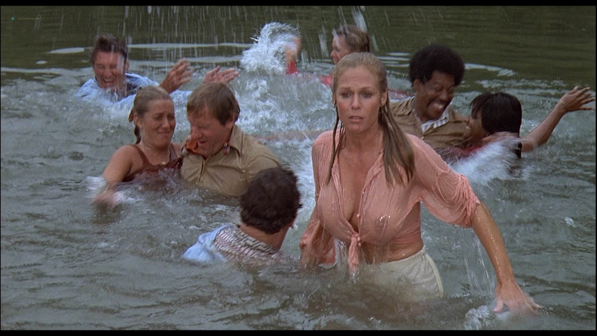 Cheré Bryson busty see through Andrea Howard, Pamela Hensley hot - The Nude Bomb (1980) HD 1080p BluRay (5)