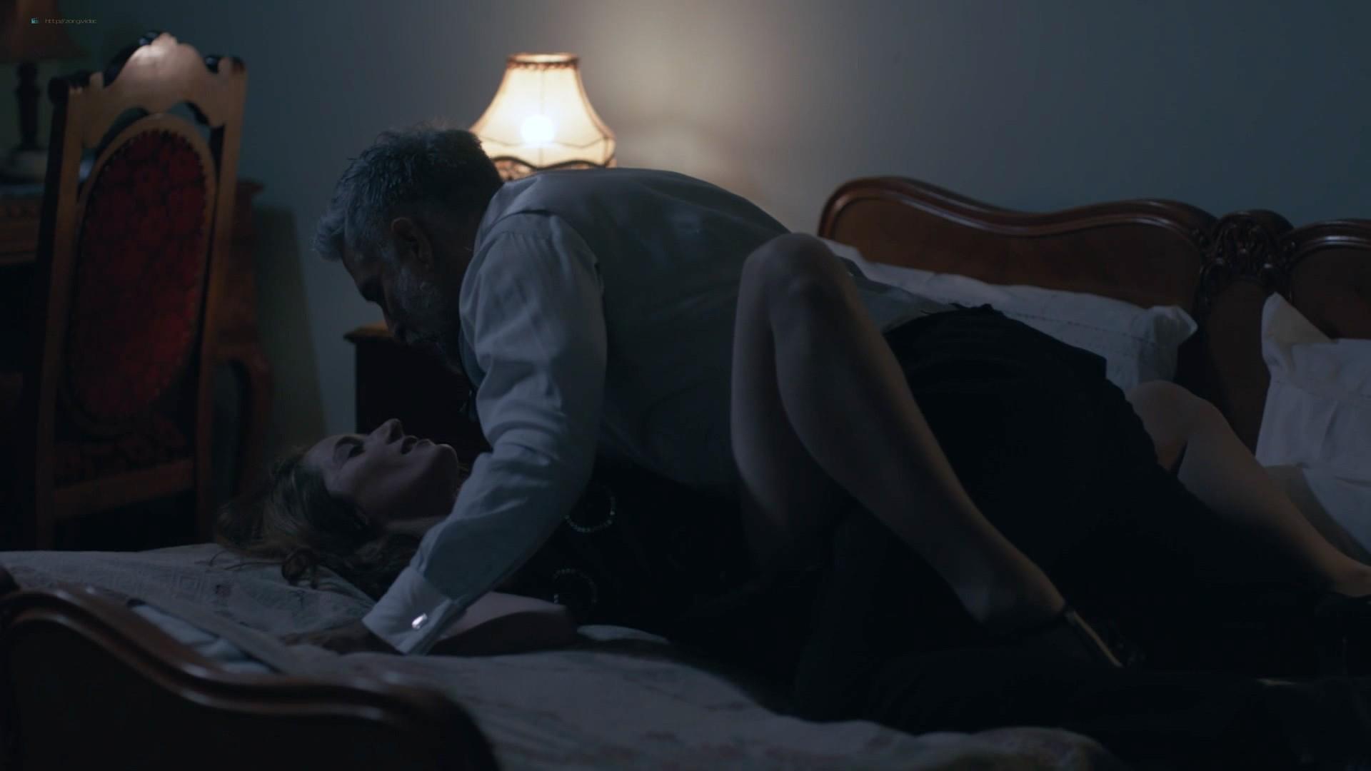 Jana Stojanovska nude sex Jovana Stojiljkovic and Marija Bergam sex - Black Sun (2017) s1e9-10 HD 1080p (2)