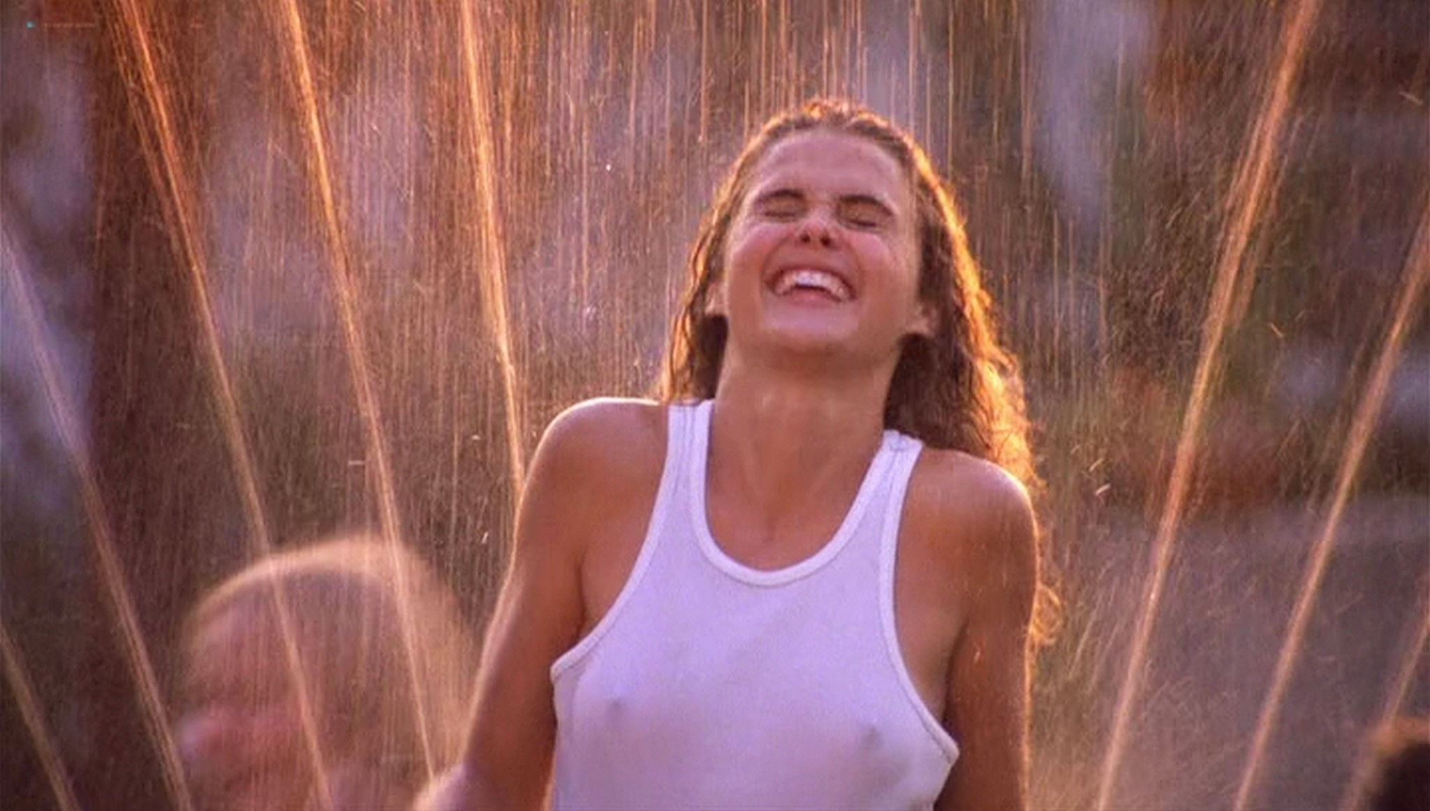Keri Russell hot see-through -Eight Days a Week (1997) (16)