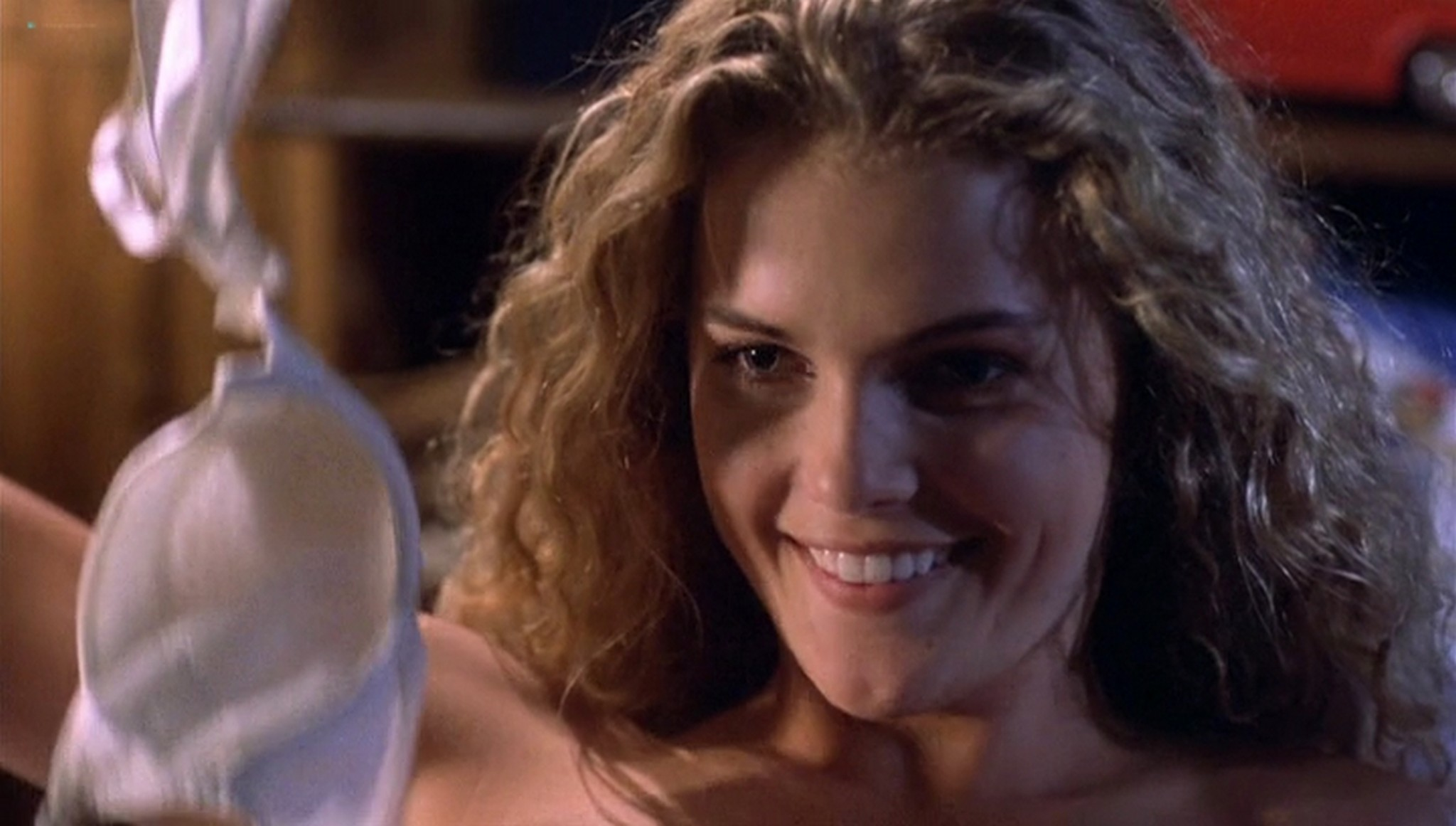 Keri Russell hot see-through -Eight Days a Week (1997) (3)