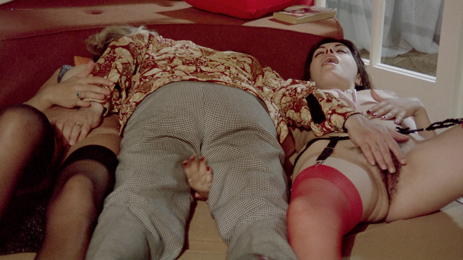 Lina Romay nude explicit Martine Stedil bush labia other nude - Downtown (1975) HD 1080p BluRay (r) (5)