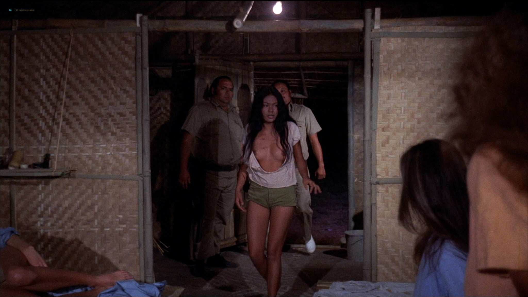 Pam Grier nude Anita Ford nude bush, others nude - The Big Bird Cage (1972) HD 1080p BluRay(r) (9)