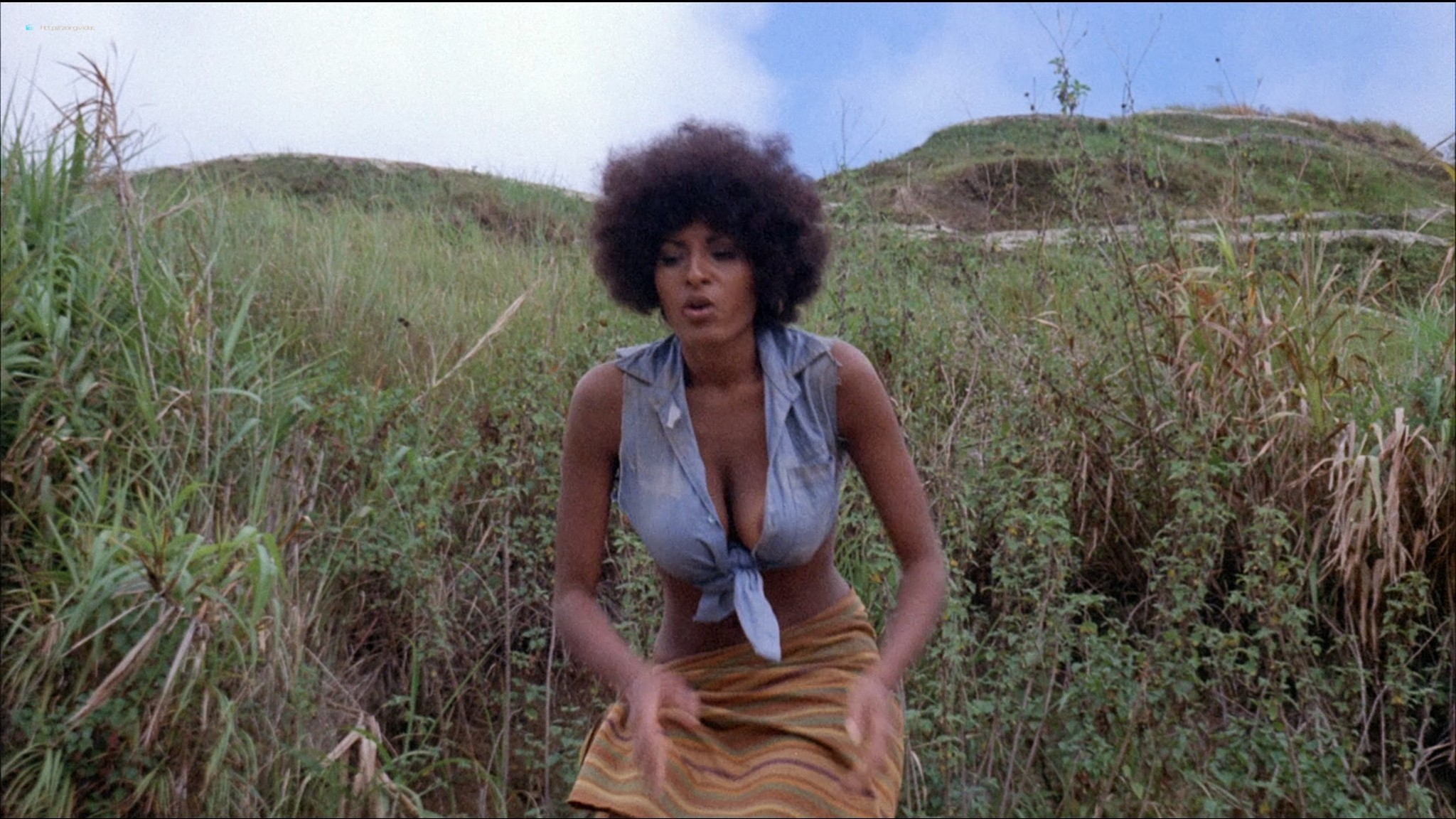 Pam Grier nude Anita Ford nude bush, others nude - The Big Bird Cage (1972) HD 1080p BluRay(r) (4)