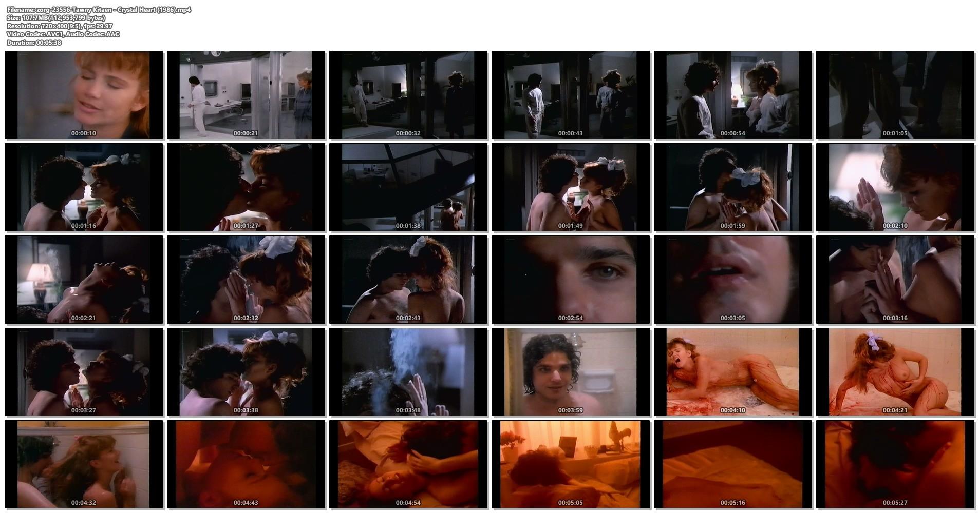 Tawny Kitaen nude bush and sex - Crystal Heart (1986) VHS (1)
