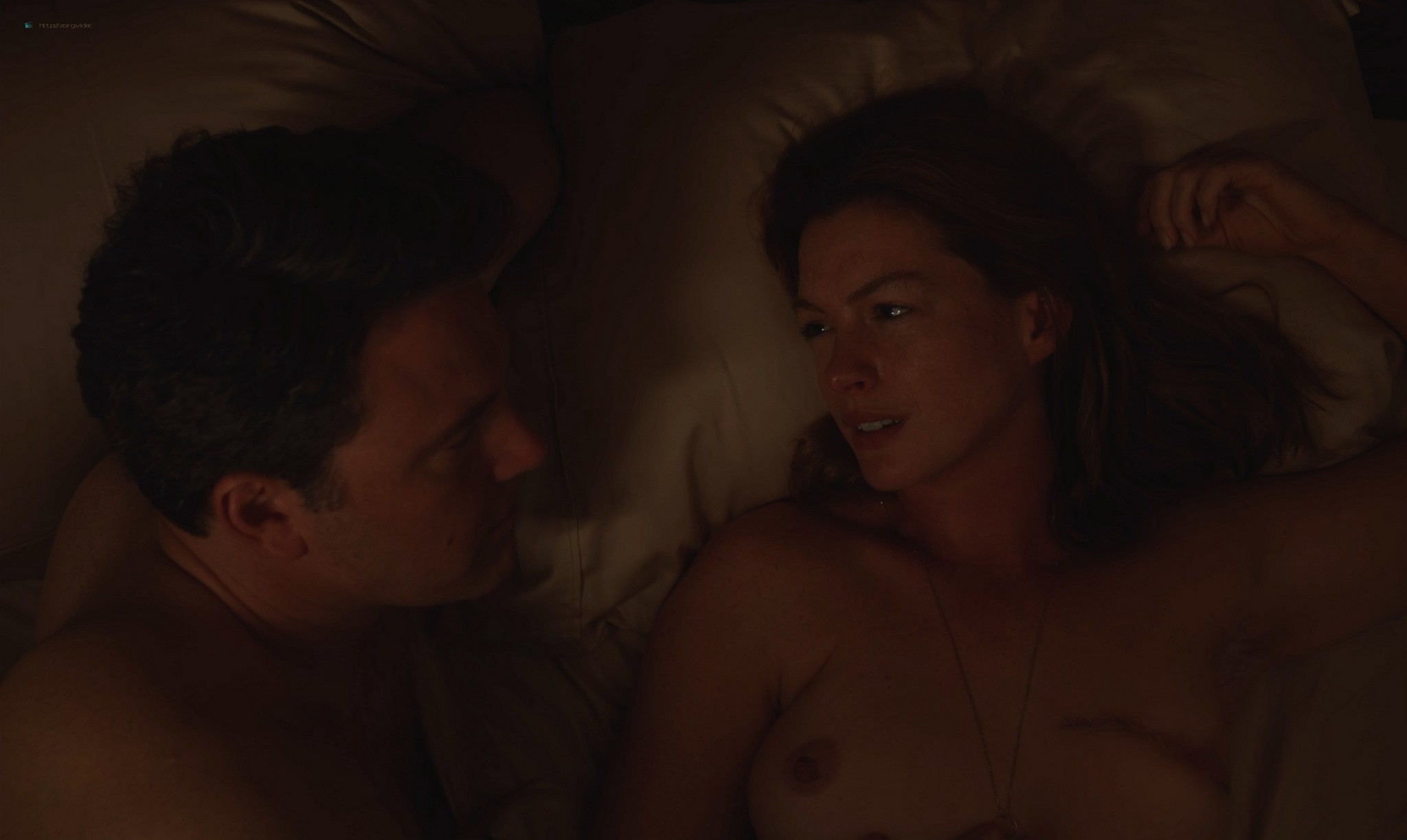 Anne Hathaway nude topless - The Last Thing He Wanted (2020) HD 1080p Web (6)