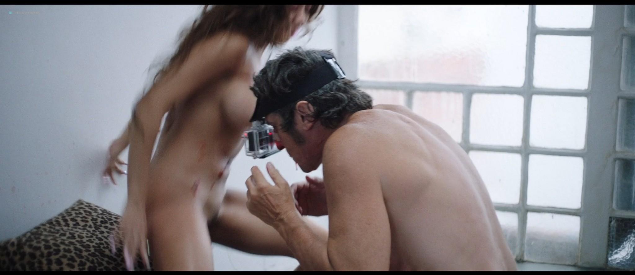 Julianne Nicholson nude sex Sabrina Alfonso nude too - Initials SG (AR-2019) HD 1080p Web (3)