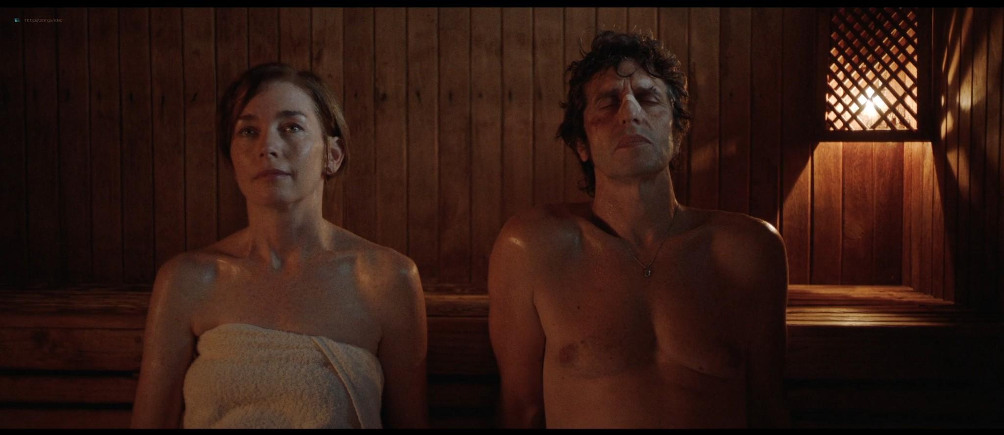 Julianne Nicholson nude sex Sabrina Alfonso nude too - Initials SG (AR-2019) HD 1080p Web (2)