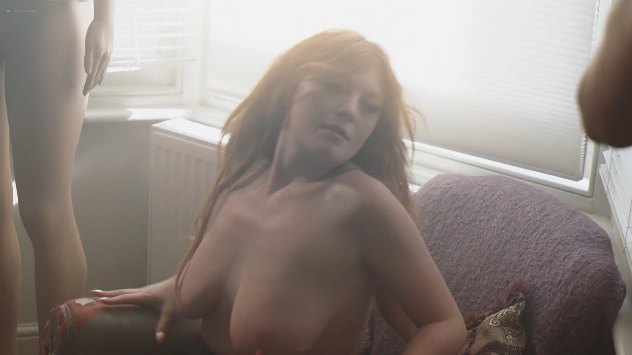 Keely Cat Wells nude Claudine-Helene Aumord full-frontal - Dirty Work (2018) HD 1080p Web (16)