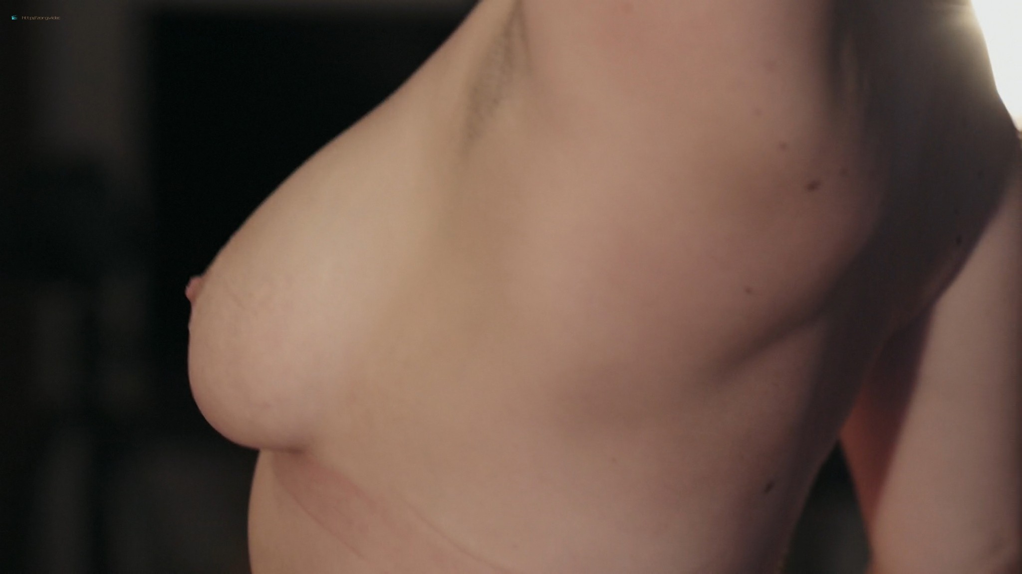 Keely Cat Wells nude Claudine-Helene Aumord full-frontal - Dirty Work (2018) HD 1080p Web (11)