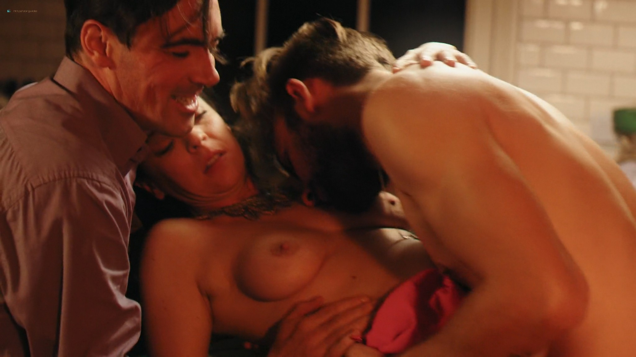 Keely Cat Wells nude Claudine-Helene Aumord full-frontal - Dirty Work (2018) HD 1080p Web (6)