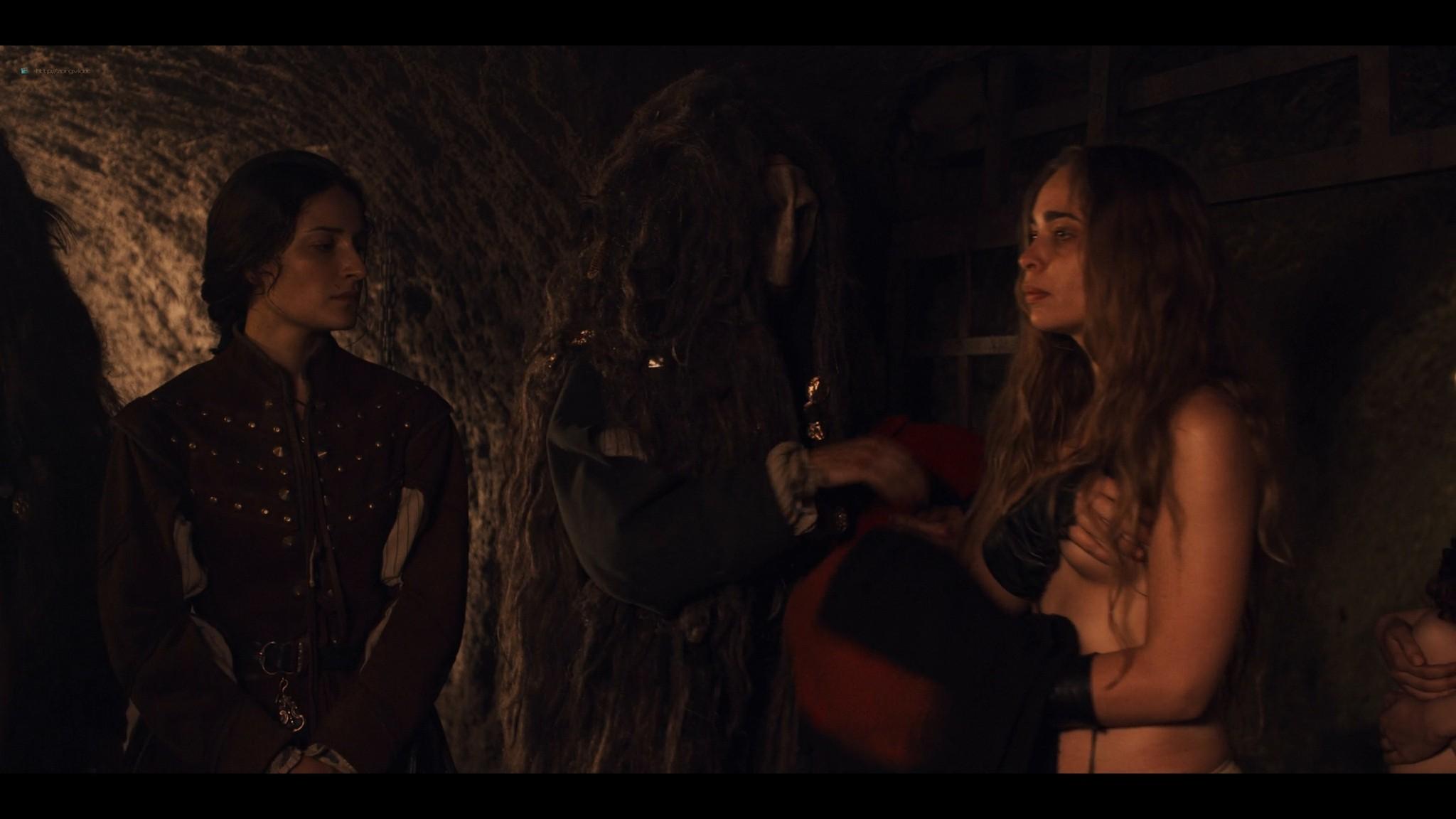 Nina Fotaras nude topless Lucrezia Guidone and others hot - Luna Nera (2020) S1 HD 1080p (2)