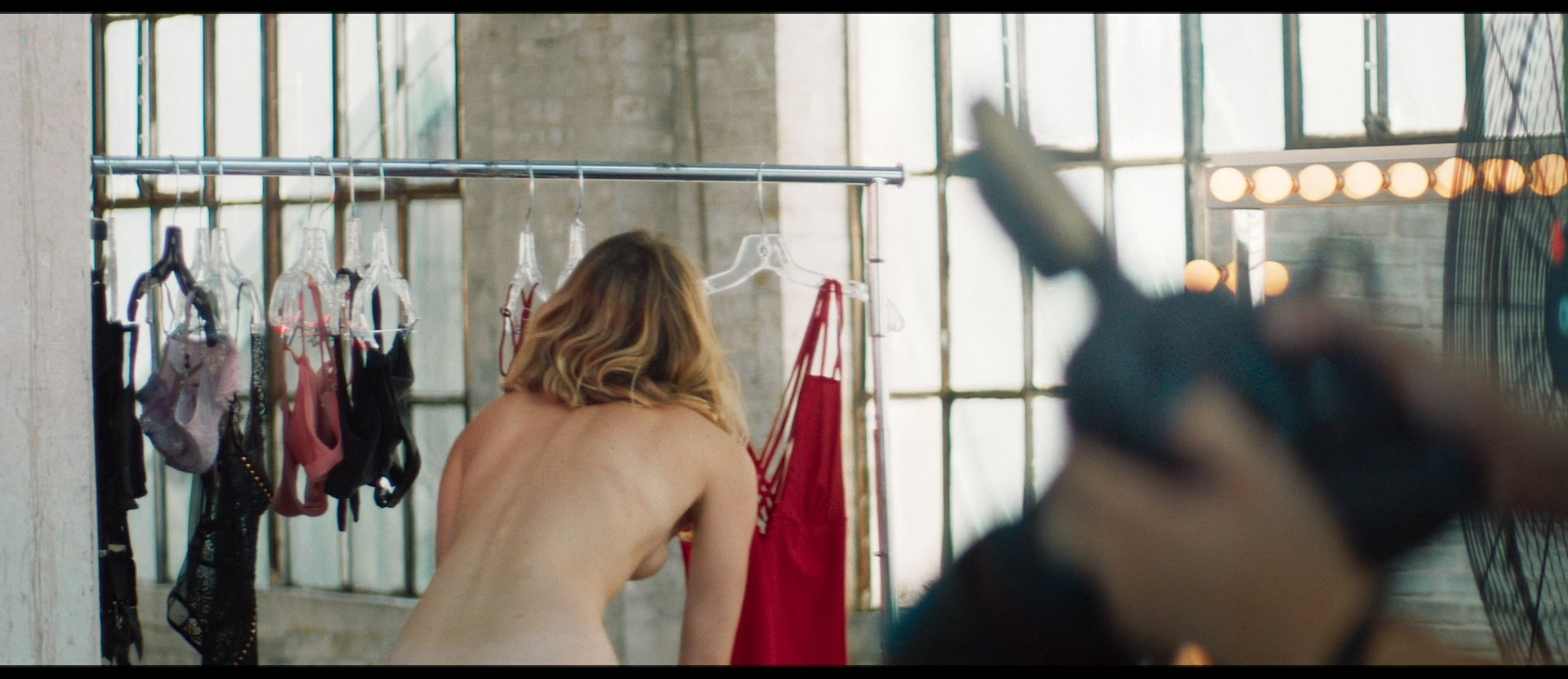 Ellen Toland nude topless Katie Claire McGrath sex doggy style - Inside the Rain (2019) HD 1080p Web (11)