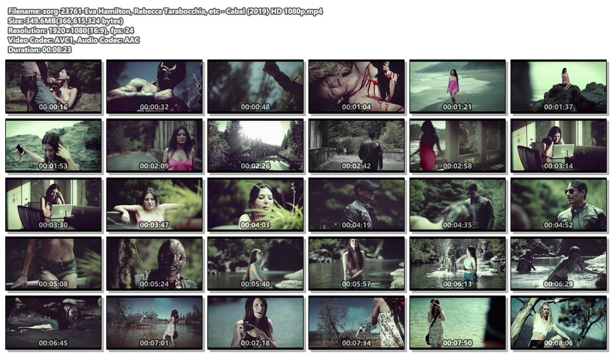 Eva Hamilton nude topless Rebecca Tarabocchia and other nude too - Cabal (2019) HD 1080p (1)