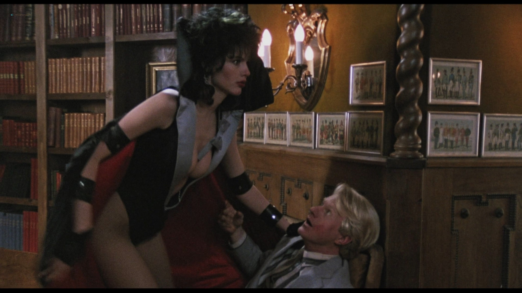 Geena Davis hot and sexy Ksenia Prohaska sexy - Transylvania 6-5000 (1985) HD 1080p BluRay (12)
