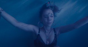 Juno Temple hot and wet Alexandra Daddario leggy - Lost Transmissions (2019) HD 1080p (4)