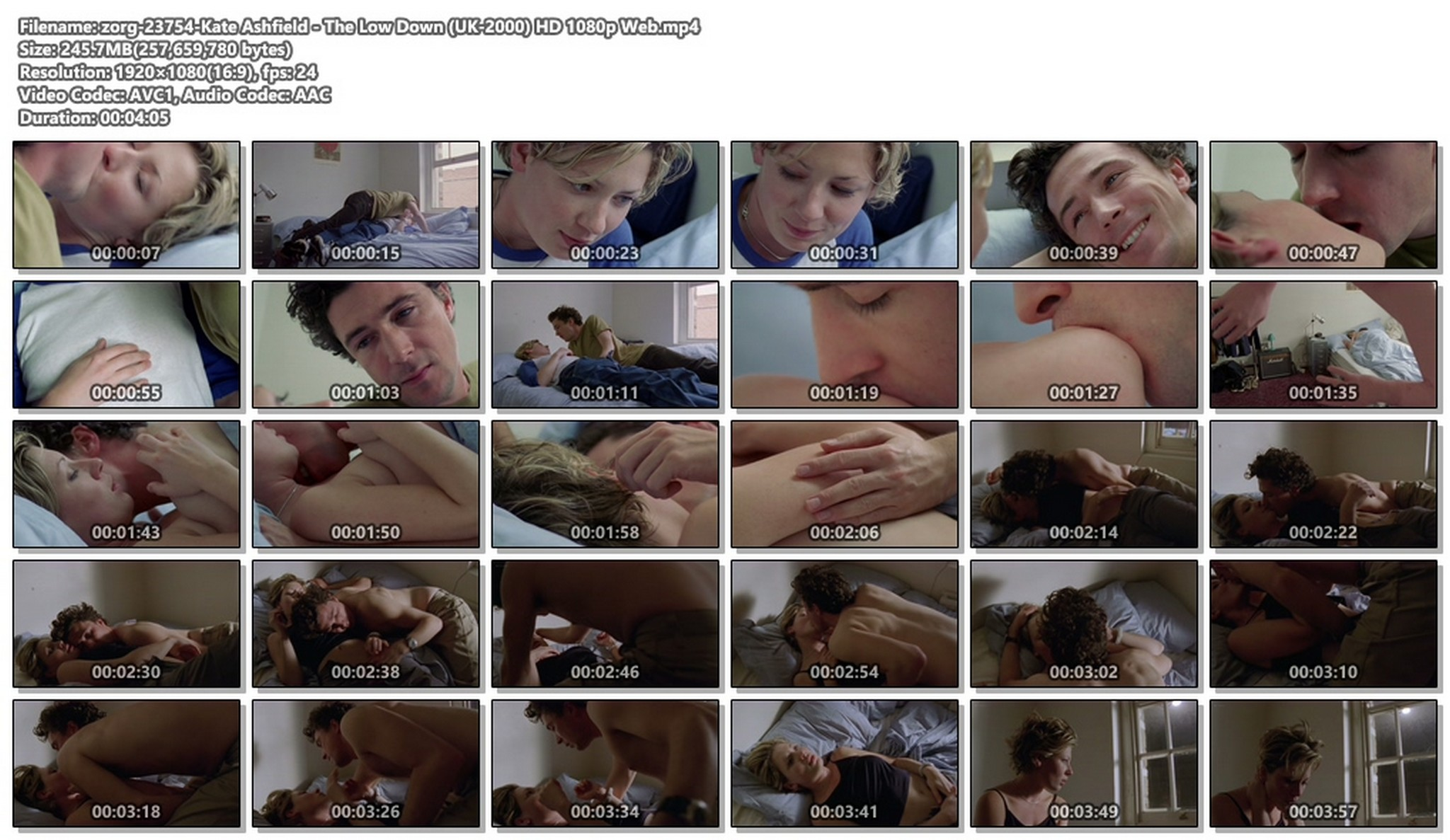 Kate Ashfield hot and some sex - The Low Down (UK-2000) HD 1080p Web (1)