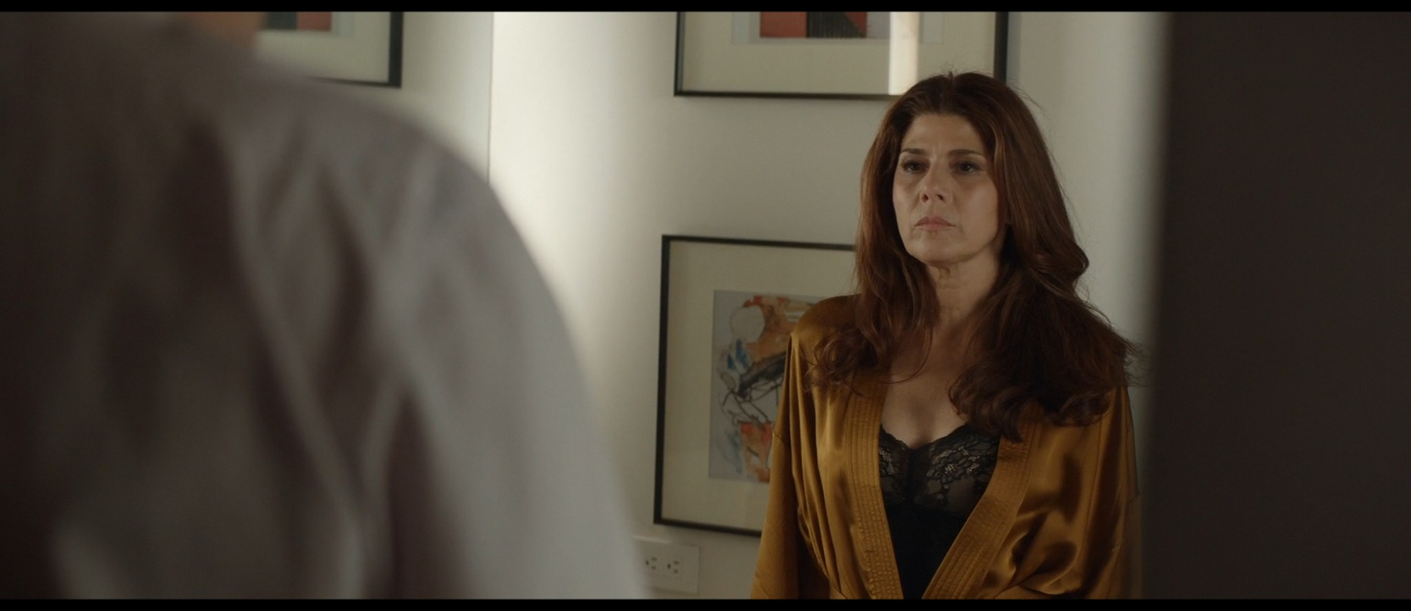 Maya Hawke nude niople and mild sex Marisa Tomei sexy - Human Capital (2019) HD 1080p (13)
